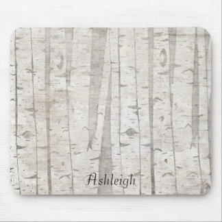 Birch Trees Mouse Pad