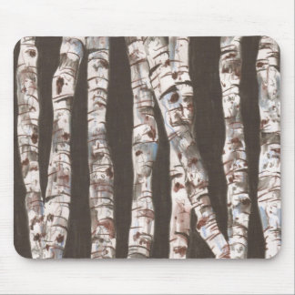 Birch Trees Mousepad!!! Mouse Pad