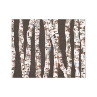 Birch Trees - Wall Hanging!!! Canvas Print