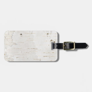 Birchbark Luggage Tag