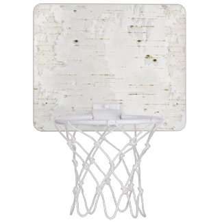 Birchbark Mini Basketball Hoop
