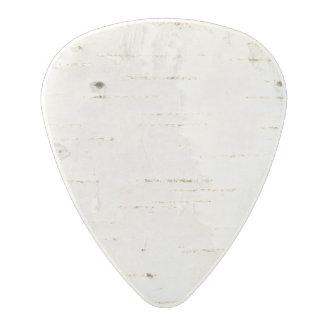 Birchbark Polycarbonate Guitar Pick