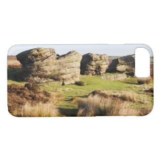 Birchen Edge, Peak District souvenir photo iPhone 8/7 Case