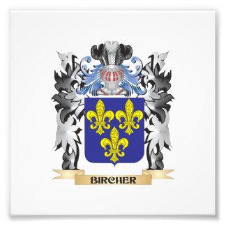 Bircher Coat of Arms - Family Crest Art Photo