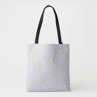 Birches Are Dressing Up Light Blue Tote Bag