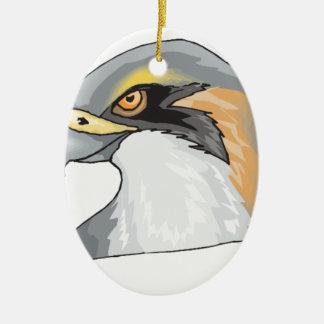 bird #4 ceramic ornament