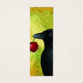 Bird 55 Crow Raven Bookmarks Tiny Cards