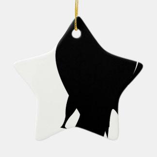 bird #6 ceramic ornament