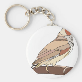 bird #7 key ring