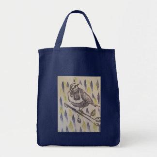 bird alert tote bag