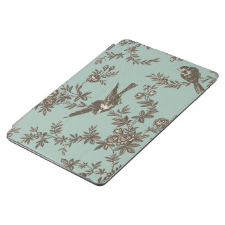 Bird and Flower Typographic iPad Air Cover