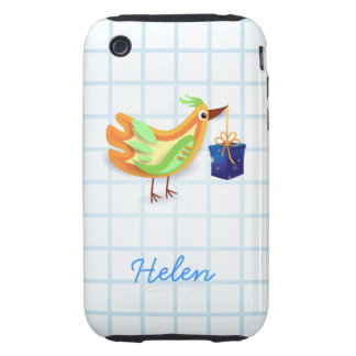 Bird and gift, iPhone3 case