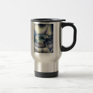 Bird and Girl Travel Mug