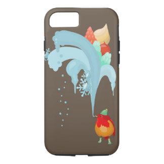 Bird and ice-cream iPhone 7 case