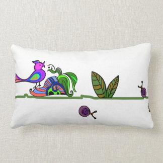 Bird and Rose Pillow Case