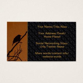 Bird Art Business Card