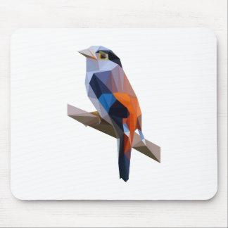 Bird art mouse pad