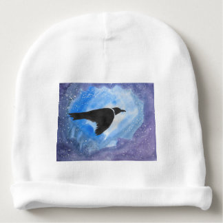 Bird At Night Baby Beanie