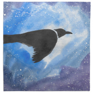 Bird At Night Napkin