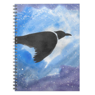 Bird At Night Notebook