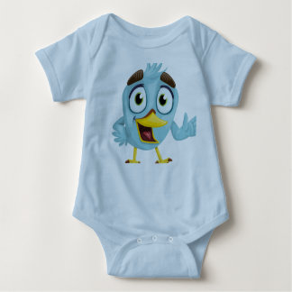 Bird Baby sleeper Baby Bodysuit