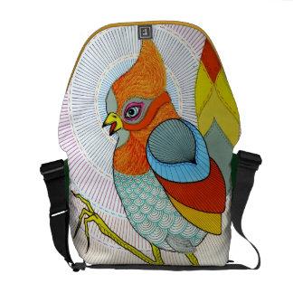 bird bag messenger bag