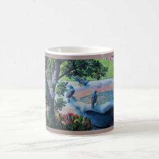 Bird Bath Coffee Mug