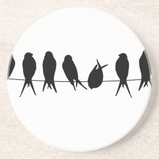bird beautiful pattern fashion style rich looks coaster