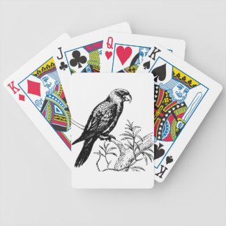 Bird Bicycle Playing Cards