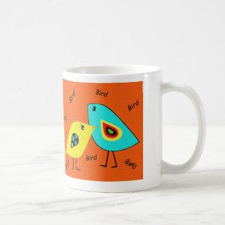 Bird Bird Orange Mug