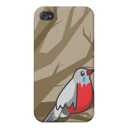 bird_brown iPhone 4 cases