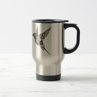 Bird business travel mug