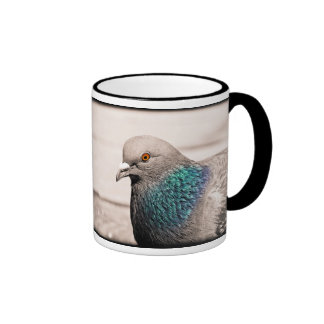 bird by water mug