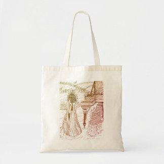 Bird Cage Rose Bag