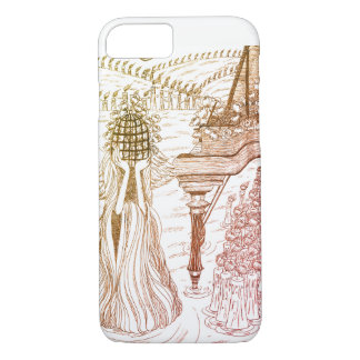 Bird Cage Rose I-phone Case