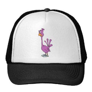 Bird cartoon mesh hats