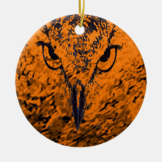 bird ceramic ornament