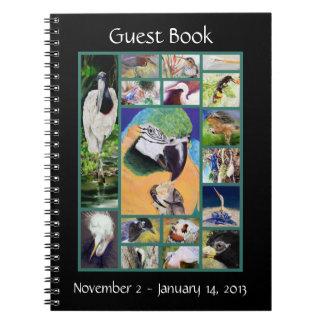Bird Collage Guest Book