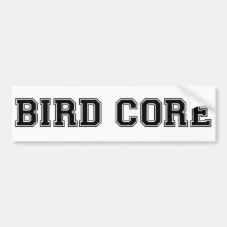 Bird Core Bumper Sticker