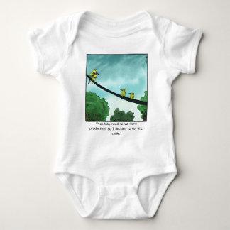Bird Cut the Cable Baby Bodysuit