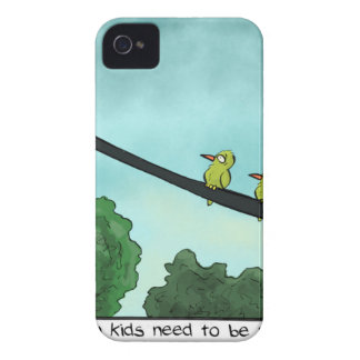 Bird Cut the Cable iPhone 4 Case-Mate Cases