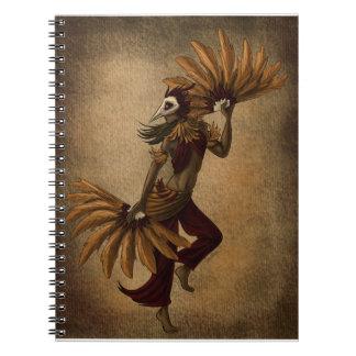 Bird Dancer Notebook