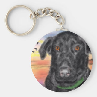 Bird dog key ring