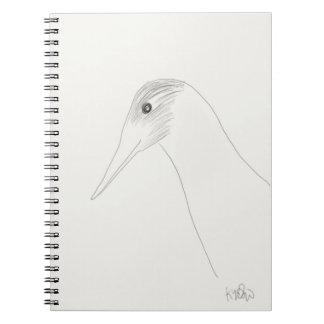 Bird Doodle Notebook