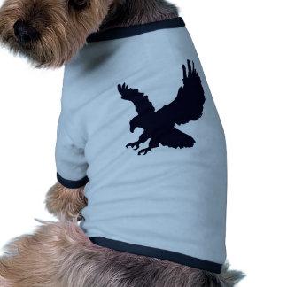 Bird, Eagle- Wildlife Dog T-shirt
