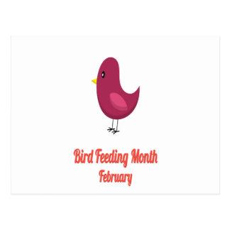 Bird-Feeding Month - Appreciation Day Postcard