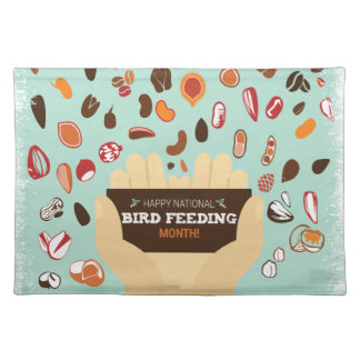 Bird-Feeding Month February - Appreciation Day Placemat
