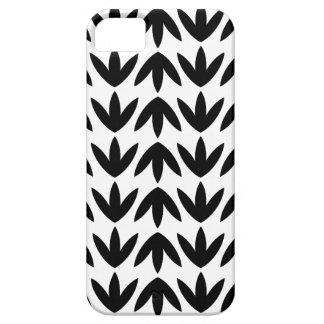 Bird Feet - Black on White iPhone 5 Cases
