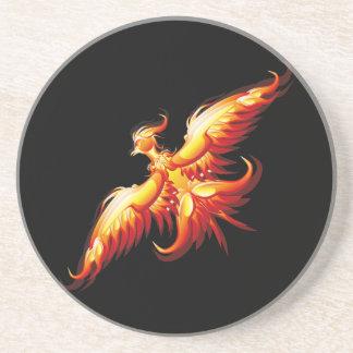 Bird fire Phoenix  3 Coaster