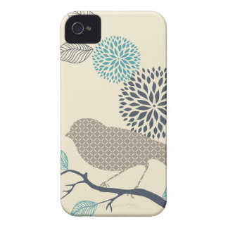 Bird & Flower iPhone Case iPhone 4 Case